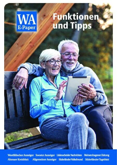 E-Paper Funktionen und Tipps vom 28.04.2021