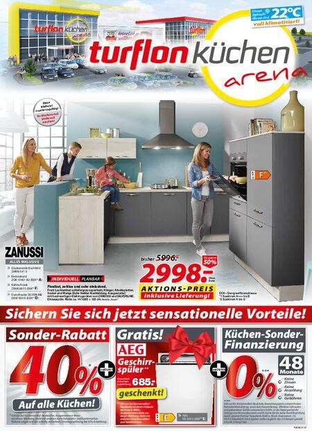 Turflon Küchen vom 13.07.2021