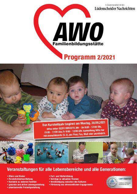AWO-Programm 2. Halbjahr vom 21.08.2021