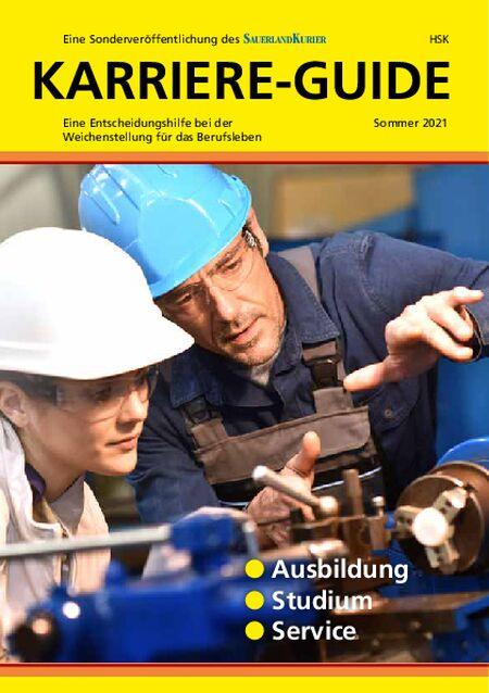 Karriere-Guide Kreis HSK vom 19.06.2021