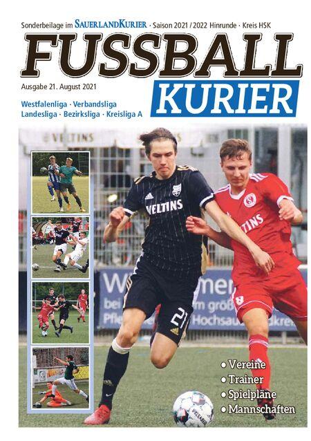 Fussballkurier 2021/22 Kreis HSK vom 21.08.2021